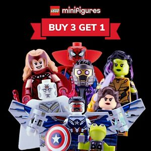 Brand New Lego Marvel Studios Minifigures 71031 Choose Your Fig *[BUY 3 GET 1]*