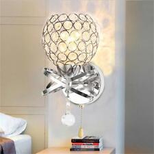 Moderna lámpara pared cristal LED espejo de baño luz delantera lámpara