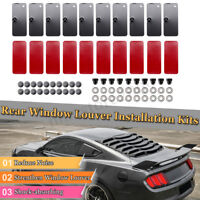 Rear Window Louver Replacement Hardware Mounting Installation Kits ! ! !