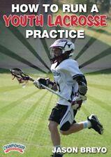 Jason Breyo: How to Run a Youth Lacrosse Practice DVD