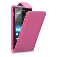 For Samsung Galaxy Ace S5830 - Leather Effect Custom Cut-outs Hull Top Flip Case