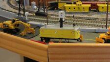 N Scale Highway Dept / M.O.W. Generator-Air Compressor & Lighting Trailer Nice !