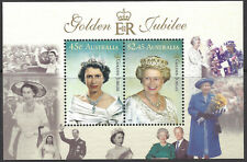 Australia 2002 QEII GOLDEN JUBILEE (2 in MiniSheet) Unhinged Mint SG MS2172