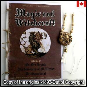antique book magic occult esoteric witchcraft grimoire masonic rite occultism 2