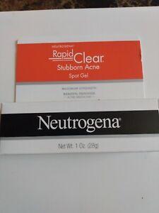 Neutrogena Rapid Clear Stubborn Acne Spot Gel 1 oz.!! EXP 01/2022