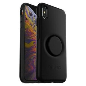 Genuine Otterbox Otter + Pop Case For iPhone XS Max - Black
