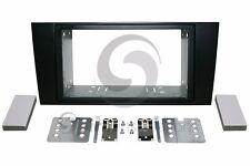 AUDI A4 2000-2001 Radio Installation Dash Kit Standard 2DIN SATIN BLACK*