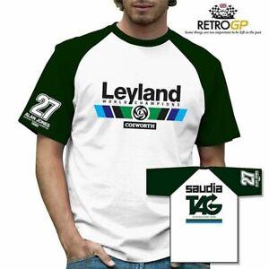 Retro GP Leyland World Champs T-Shirt Classic Grand Prix Formula One F1