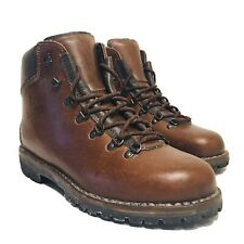 Italian made ALICO All Leather Backpacking Hiking Trekking Boots Men's US 10 W