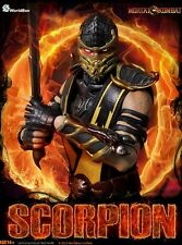 WorldBox Mortal Kombat Scorpion Sixth Scale Collectible Figure New