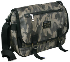 Messenger Bag in Camouflage - College-Schultertasche - auch crossover - DIN A4++
