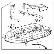 John Deere Replacement 42-inch Mower Deck Housing