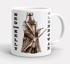 NED KELLY  OUTLAW  BUSHRANGER  1854  1880  GLENROWAN    QUALITY  11oz.  MUG