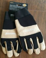Dickies High Performance Heavy Duty Pigskin Leather Gloves- Large