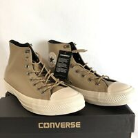 Converse Sneakers Chuck Taylor All Star Hi Top Leather Tan Athletic Fashion 11M