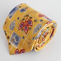 ANGELO LITRICO 100% Seiden Krawatte Tie Cravate 63