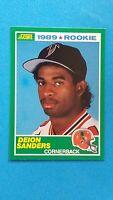 1989 SCORE BASEBALL DEION SANDERS ROOKIE CARD #246 MINT!