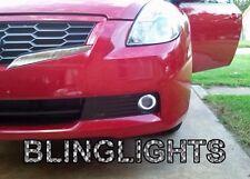 Halo Angel Eye Fog Lamp Light Kit coupe sedan foglamps for 07-2012 Nissan Altima