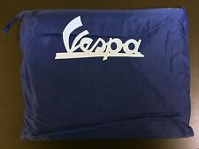 Waterproof scooter / bike cover blue for Vespa