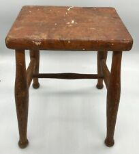 VINTAGE OLD RETRO WOOD WOODEN STOOL WELL MADE MILKING COUNTRY FARM HOUSE