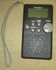 Radio Shack Digital AM/FM Pocket Radio 1200587 well kept nice