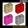 LEGO 22885 Brick, Modified 1 x 2 x 1 2/3 with Studs on 1 Side | Various Colours