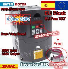 【EU almacén】 HY 4KW 220V 5HP Variador de Frecuencia VFD CNC Motor Drive Inverter