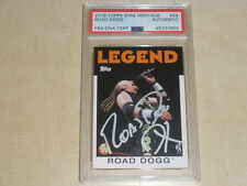 2016 Topps WWE Heritage Autograph Auto Road Dogg PSA/DNA AUTHENTIC