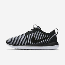 9948f8ad64bc Nike Roshe Two Flyknit Womens Shoes Black White Cool Grey 001 Multiple Sizes