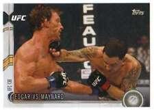2015 Topps UFC Chronicles #140 Edgar vs Maynard