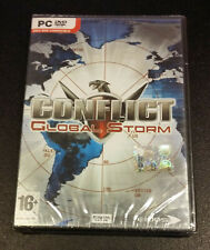 Conflict Global Storm PC ITALIAN EDITION FIRST PRINTING NEW & SEALED
