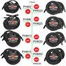 2 PACK Pig Hog PHM3/6/10/15/20/25/30/50/100 High Performance 8mm XLR Mic Cable