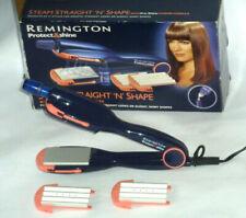 Vintage Remington Hair straighteners Crimpers Waver Steam Straight 'N' Shape