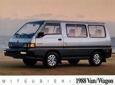 1988 Mitsubishi Van Wagon ORIGINAL Large Factory Postcard my1446
