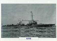 1927 ILTIS Torpedo-Boat Destroyer Ship / Germany Warship Photograph Maxi Card