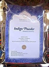 Indigo Powder 100gms -(Indigofera tinctoria) Natural hair dye Fresh 2016 Harvest