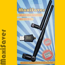 max 300 Mb/s/s clé WLAN 802.11n Adaptateur Dongle USB WPS G N avec fort Antenne