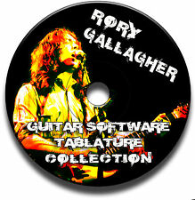 RORY GALLAGHER BLUES ROCK GUITAR TAB TABLATURE SONG BOOK SOFTWARE CD BEST OF