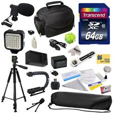 Advanced Accessories Kit for Sony HDR-XR350V HDR-XR550 Camcorder Video Camera