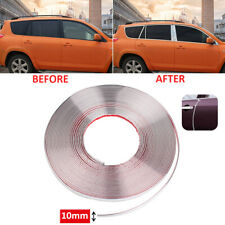 More details for 10mm x 15m chrome styling moulding trim strip self adhesive - metre meter window