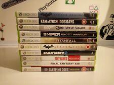 Xbox 360-Spiele Bundle x10 Spiele.
