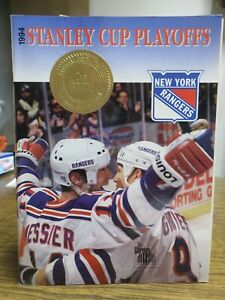 1994 STANLEY CUP 2nd ROUND PLAYOFFS PROGRAM---Washington Capitals vs. NY Rangers