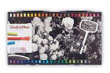 Conté à Paris ARTISTI PASTELLI QUADRATI SCATOLA DI 48 colori assortiti