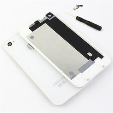 New For iPhone 4/4S Battery Back Cover Rear Glass Door Replacement+Tool+Screws
