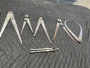 vintage machinist tools calipers starrett look