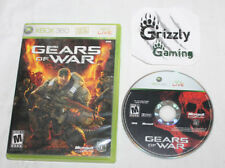 USED Gears of War Microsoft XBOX 360 (NTSC) Tested and Working!