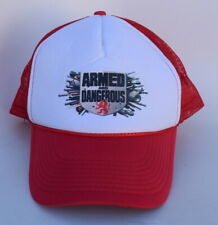 9f97194e ARMED AND DANGEROUS Snapback Trucker Baseball Cap Hat One Size Fits All  5-Panel