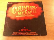 LP COUNTRY MUSIC ALABAMA SYLVIA RONNIE MILSAP LORNE GREEN CHET ATKINS AND MORE