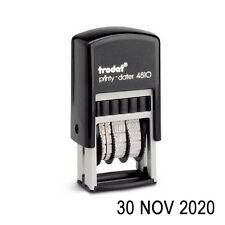 TRODAT 4810 DATE STAMP, SELF INKING RUBBER, DATER 3.8mm (H) (Format 23DEC2020)
