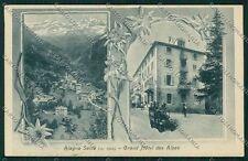 Vercelli Alagna Sesia Zanfa cartolina QK4865